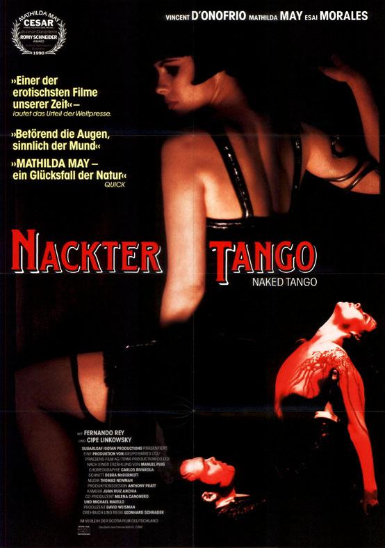 Nackter Tango ORIGINAL A1 Kinoplakat Mathilda May