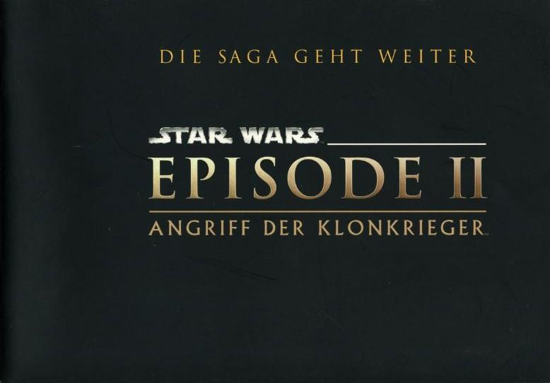 Star Wars - Episode 2 - Angriff der Klonkrieger